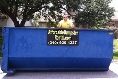 rent a roll off dumpster in san antonio