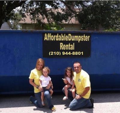 Dumpster rental in San Antonio