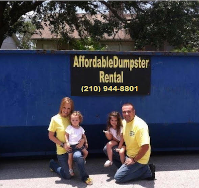 Dumpster Rental for San Antonio